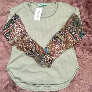 Filly Flair Long Sleeve Blouse